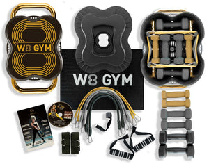 W8 GYM Deluxe Gold Limited Edition
