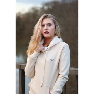AW17 Beige Hoodie - The Wolfe London