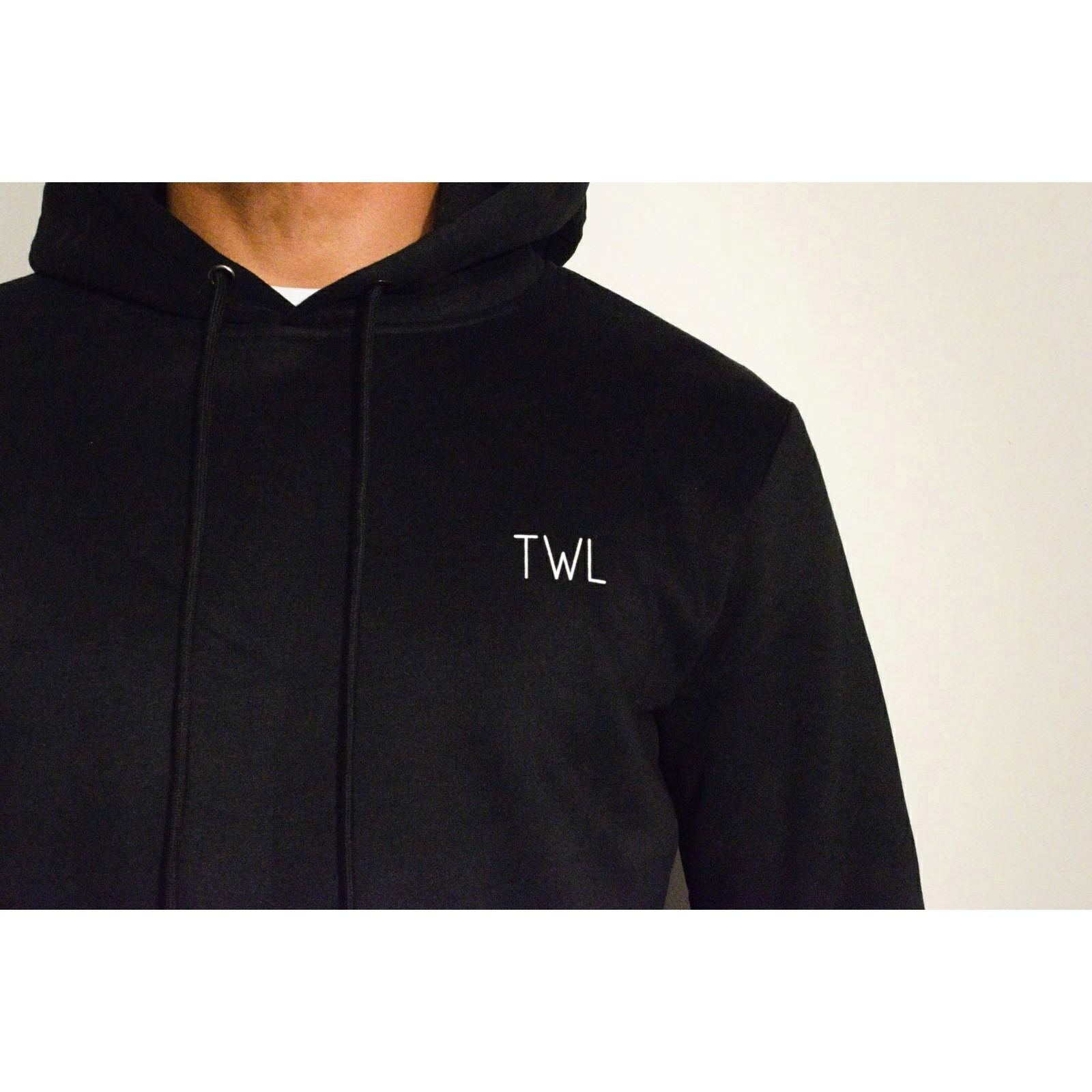 AW17 Black Hoodie - The Wolfe London