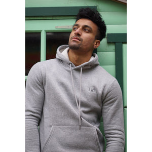 AW17 Grey Hoodie - The Wolfe London