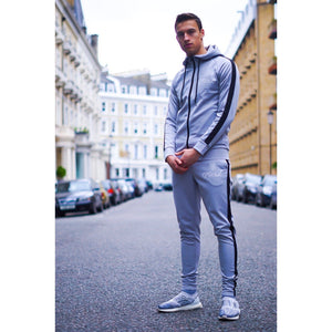 Gun Metal Grey Tracksuit Bottoms