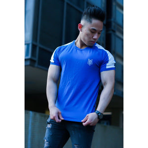 Hydro Blue Jersey T-shirt - The Wolfe London