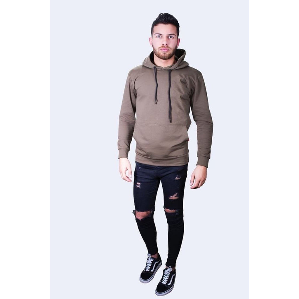 Jungle Fever Khaki Hoodie - The Wolfe London