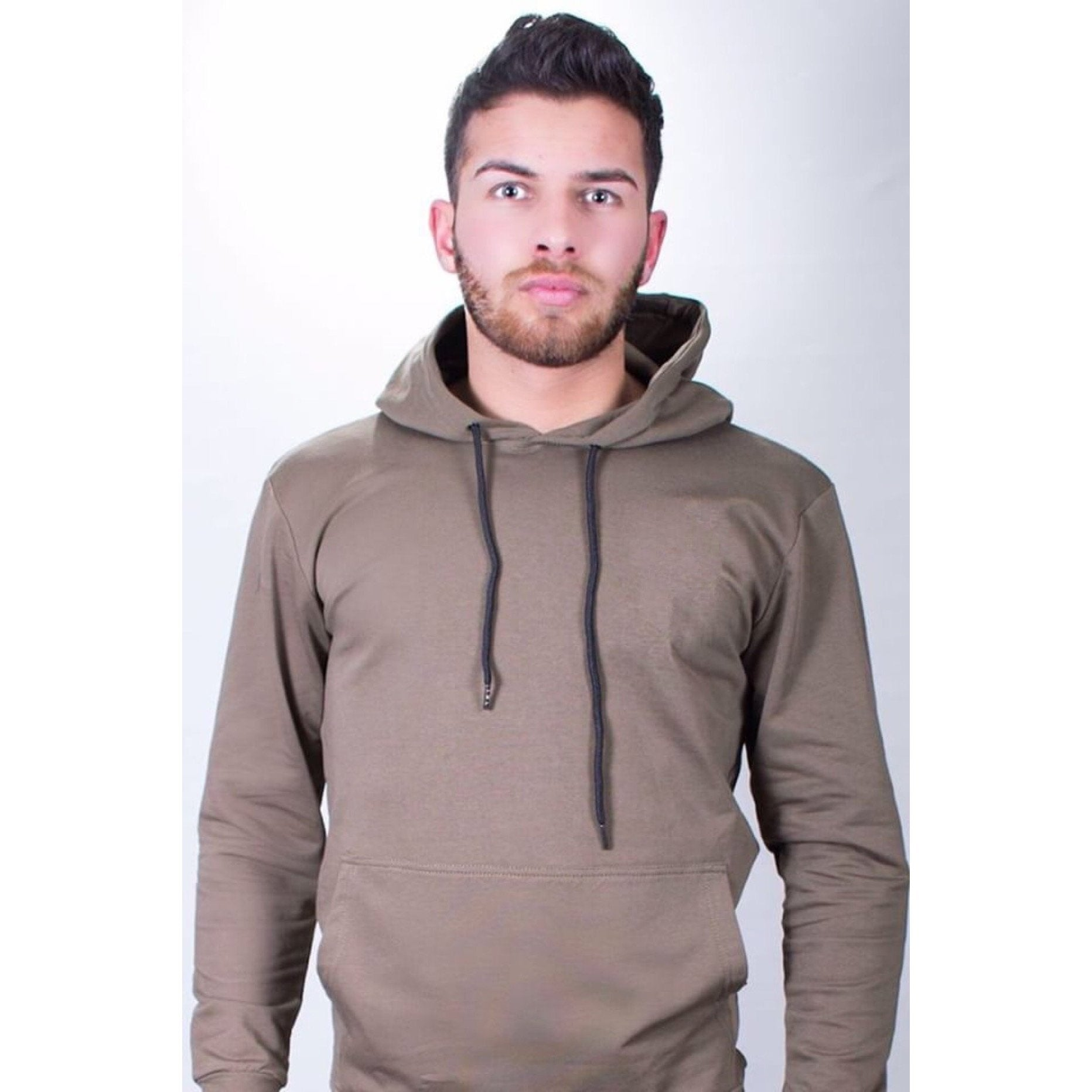 Jungle Fever Khaki Hoodie