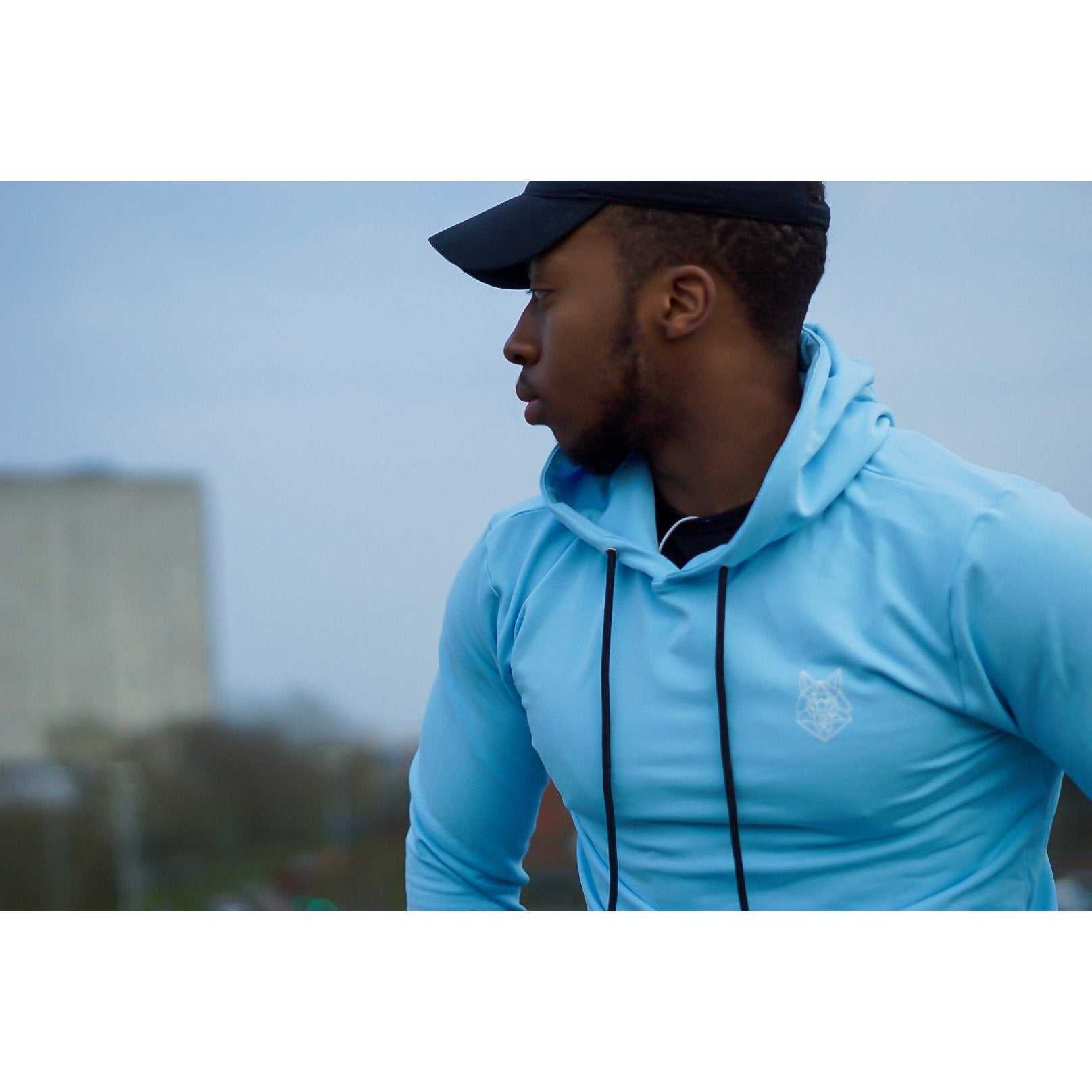 Sky Baby Blue Hoodie - The Wolfe London