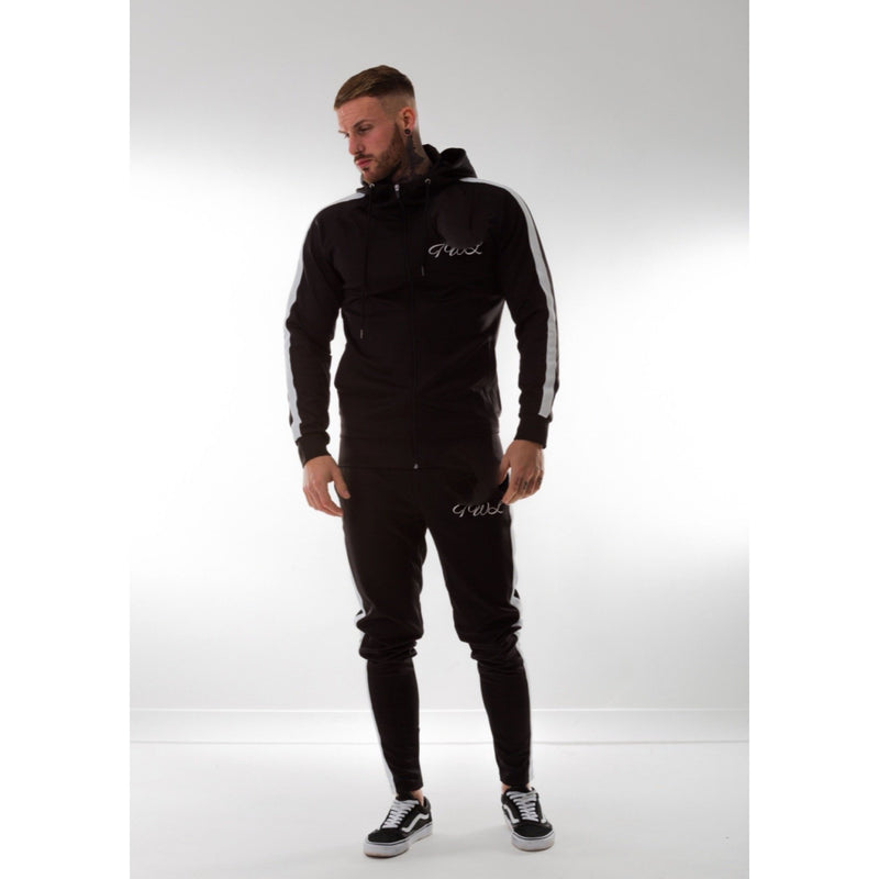 Super Nova Black Tracksuit Top - The Wolfe London