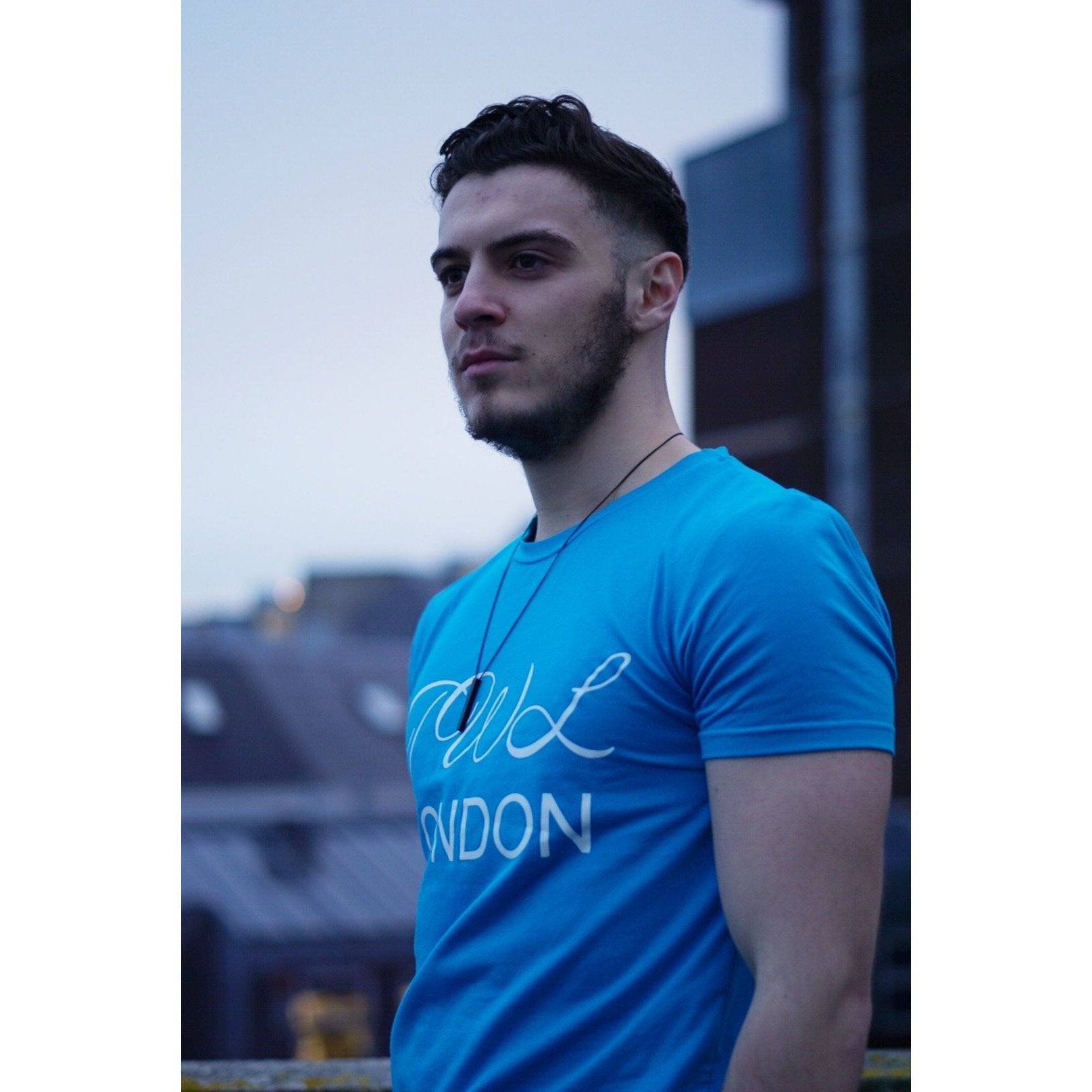 Super Nova Teal Blue T-shirt