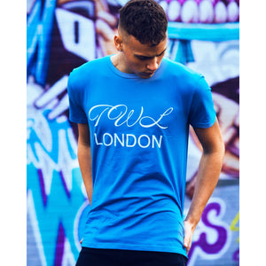 Super Nova Teal Blue T-shirt - The Wolfe London
