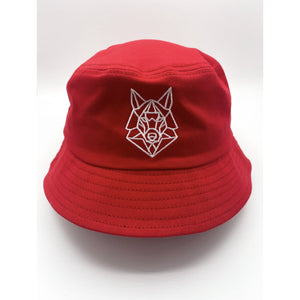 Crimson Red Bucket Hat