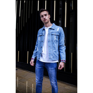 Azure Denim Jacket - The Wolfe London