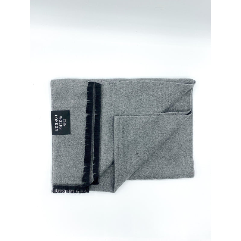 Ghost Grey Scarf