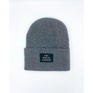 Ghost Grey Beanie Hat