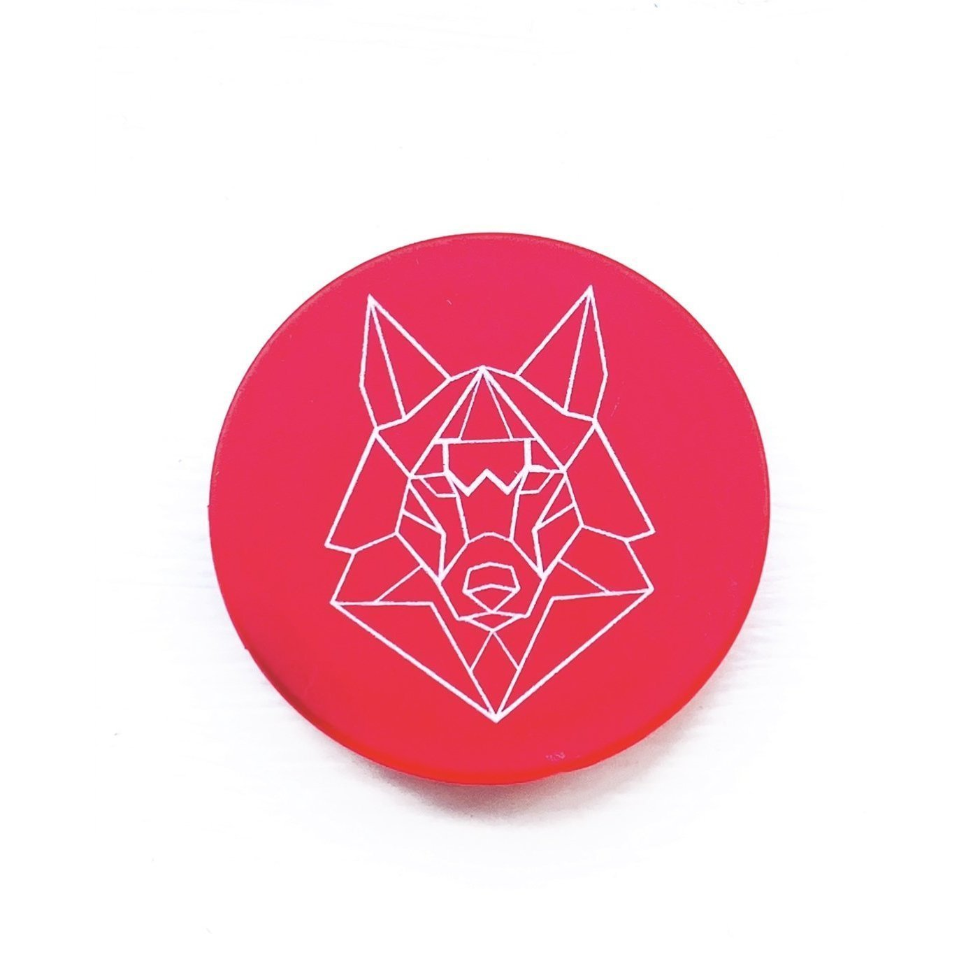 Red Pop Socket