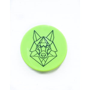 Neon Green Pop Socket