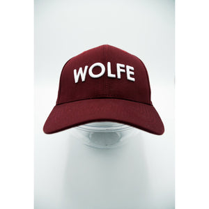 Red Wolfe Pitcher Cap