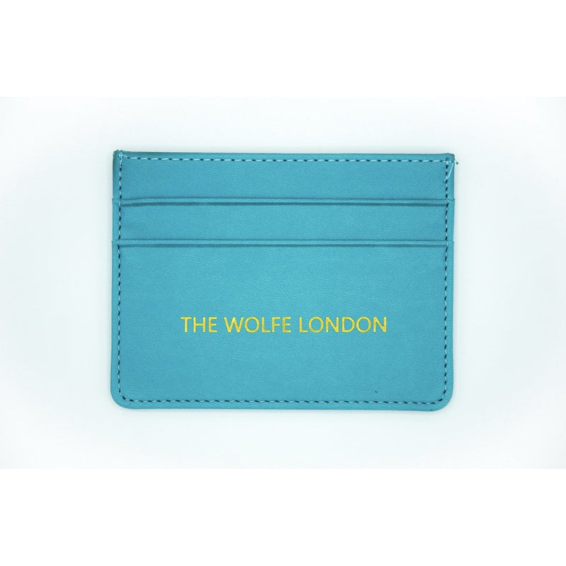 Turquoise Card Case