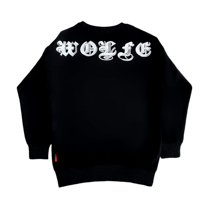 Gothic Knight Black Sweatshirt