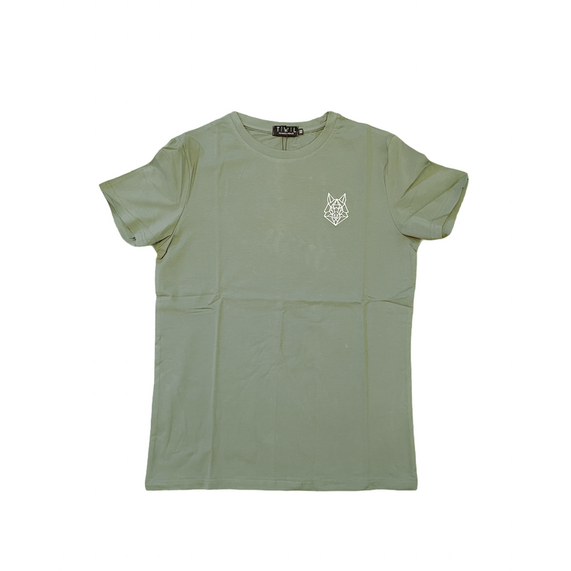 Signature Logo Green T-shirt