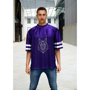 10-08 Purple Jersey T-Shirt - The Wolfe London