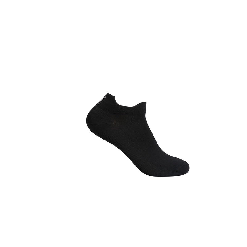 Alpha Black Ankle Socks