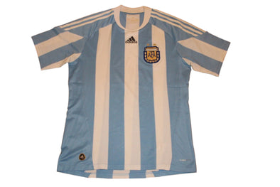 ARGENTINA 2010/2011 HOME AUTHENTIC VINTAGE SOCCER/FOOTBALL JERSEY. MEDIUM
