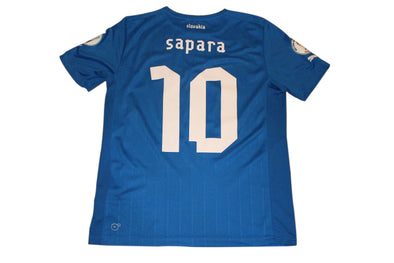 SAPARA #10 SLOVAKIA 2014 WORLD CUP QUALIFIERS HOME AUTHENTIC SOCCER JERSEY. M