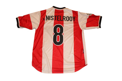 VAN NISTELROOY #8 PSV CHAMPIONS LEAGUE HOME AUTHENTIC VINTAGE SOCCER JERSEY. L
