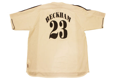 BECKHAM #23 REAL MADRID 2003/2004 HOME AUTHENTIC VINTAGE JERSEY