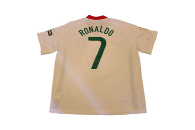 RONALDO #7 PORTUGAL EURO 2008 AWAY AUTHENTIC VINTAGE SOCCER JERSEY. XL