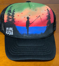 Hand Painted Trucker Hat