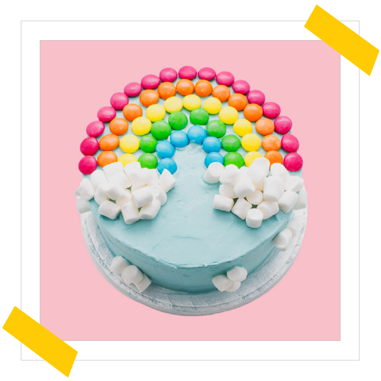 How To Make The Ultimate Rainbow Cake