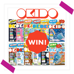 Win 12 Back Issues of Okido Magazine