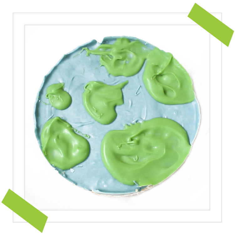 Easy Earth Cake Recipe for Earth Day