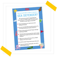 Plastic Free Guide To Becoming A Sea Defender