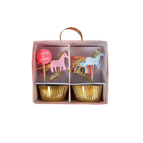 I Believe In Unicorns Cupcake Kit - BKD - Meri Meri