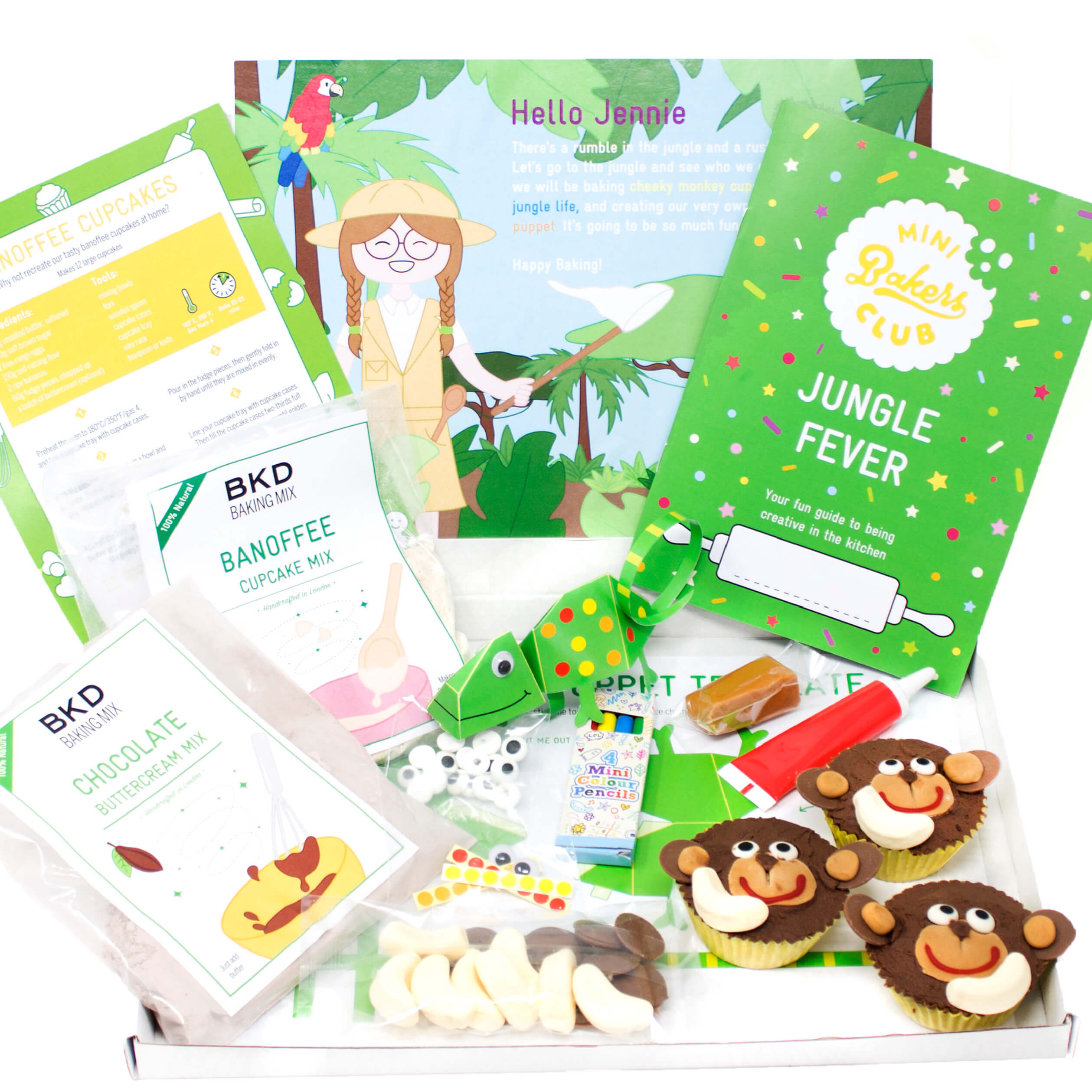 Mini Bakers Club | 12 Month Subscription - £109.92 - BKD