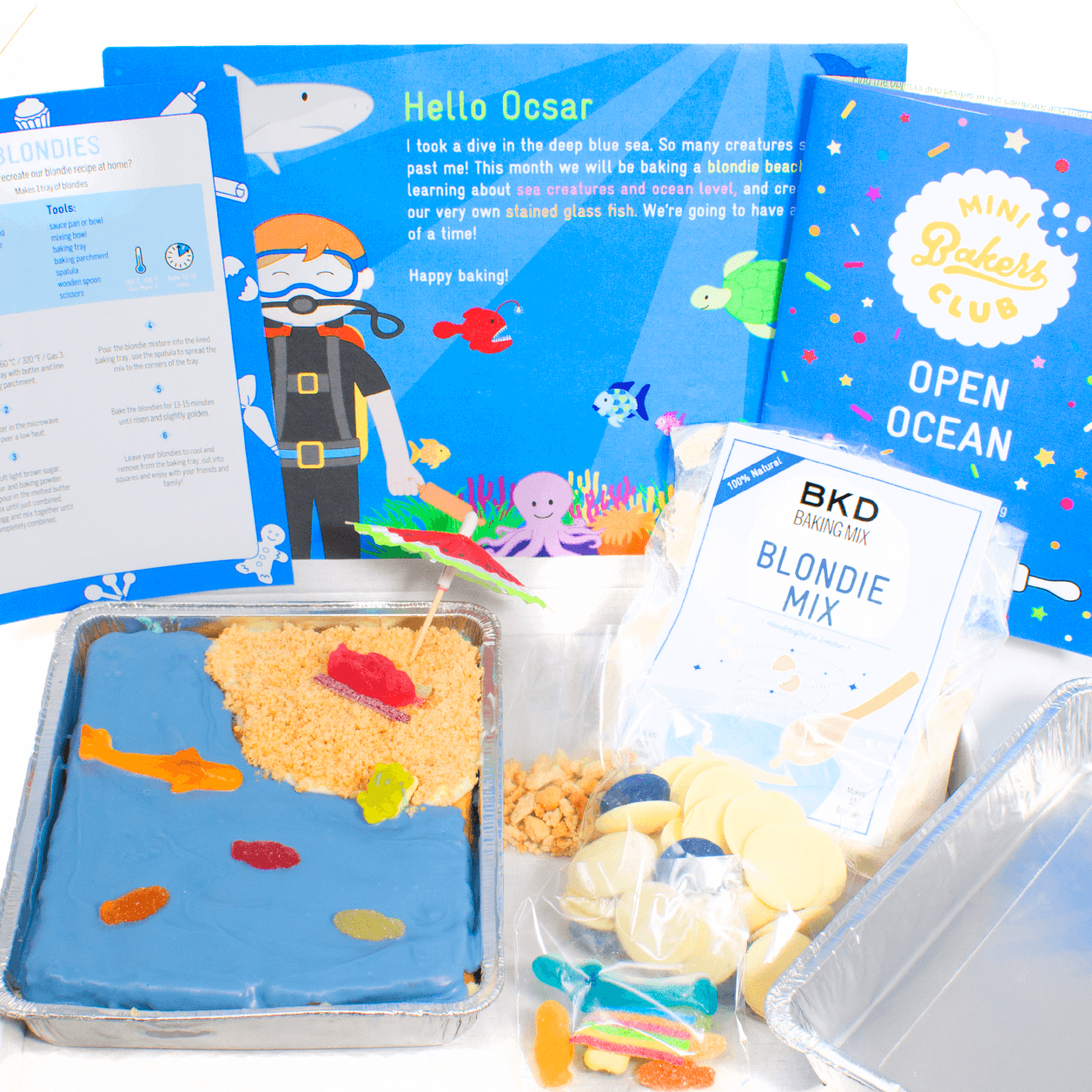 Bake Box | Mini Bakers Club | Monthly Subscription - £7.99 a month - BKD
