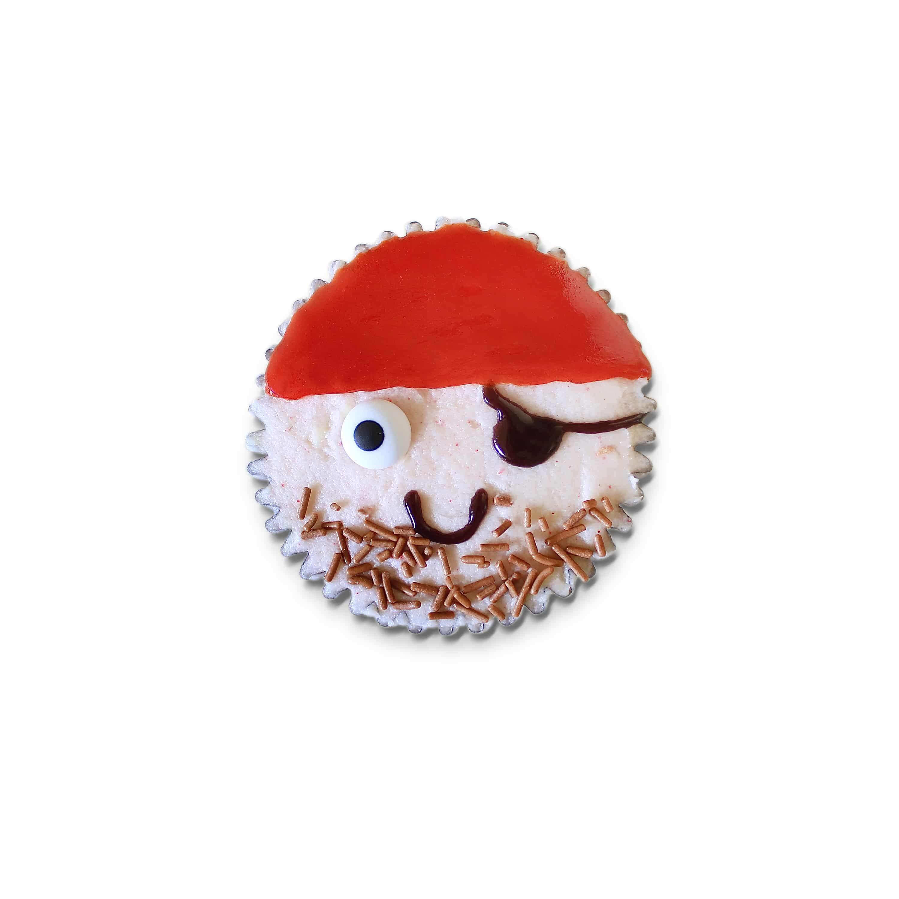 Chocolate & Raspberry - Pirate Cupcake Mini Baking Kit - BKD