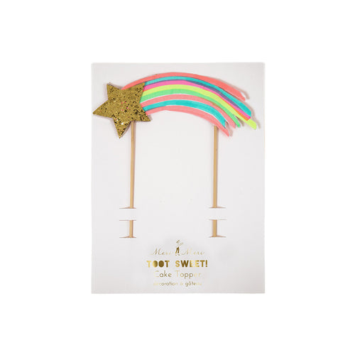 Shooting Star Cake Topper - BKD