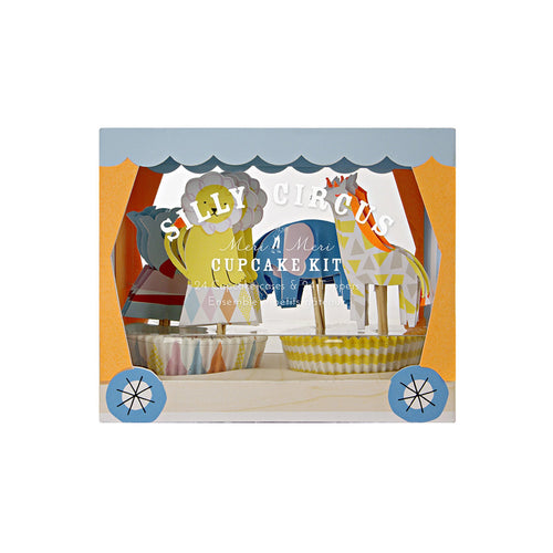 Silly Circus Cupcake Kit - BKD