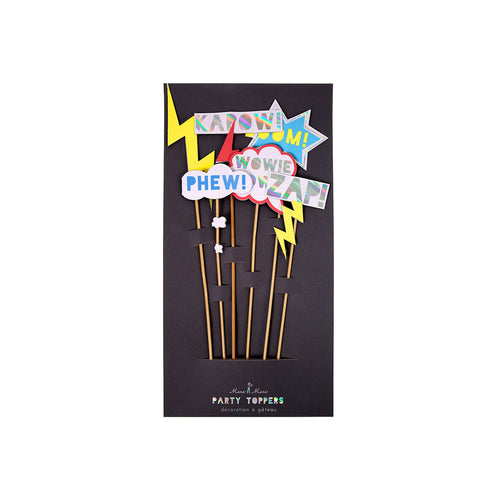 Zap! Party Cake Toppers - BKD