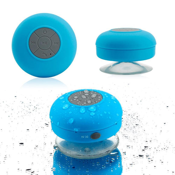 Waterproof Bluetooth Speaker (with suction pad for the shower)