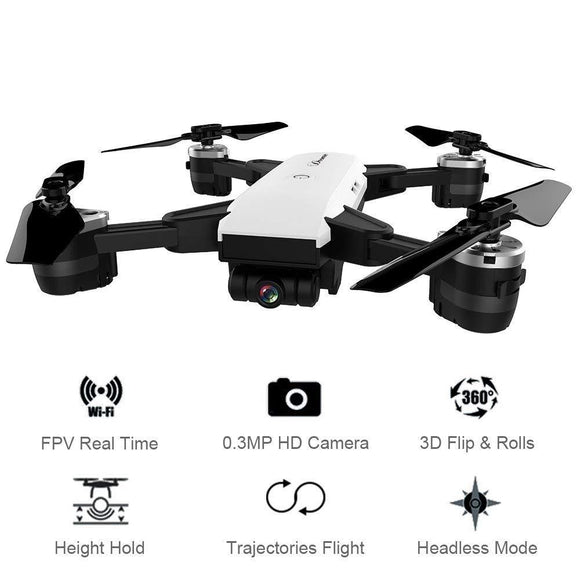 YH-19HW Drone With Wide Angle HD Camera WiFi FPV - Bestbuy-Gadget