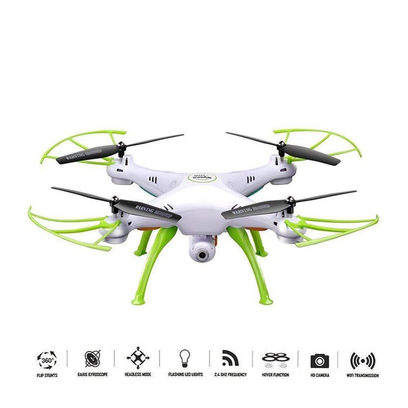 X5HW FPV Quadrocopter RC Drone With WiFi HD Camera - Bestbuy-Gadget