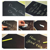 Stick-On Blackboard For Endless Drawing Fun - Bestbuy-Gadget