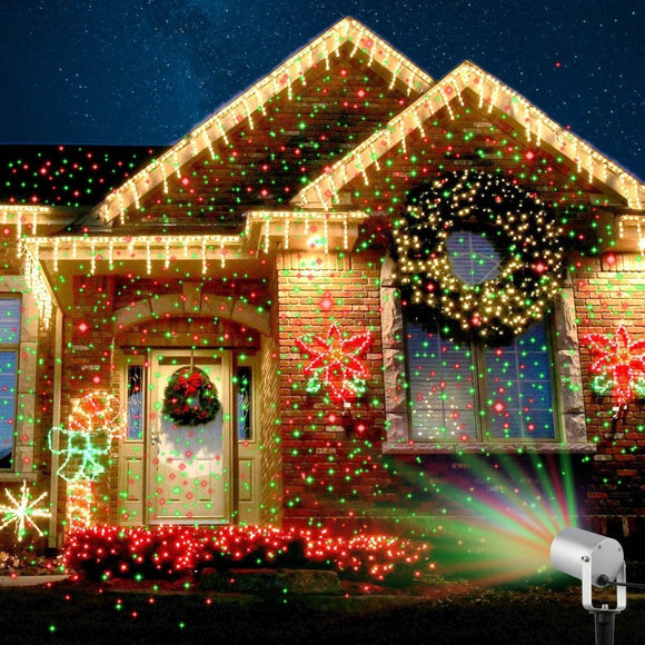 Laser Christmas Lights Projector With Remote Control - Bestbuy-Gadget