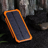 10,000mAh Solar Power Bank Battery Portable Charger - Bestbuy-Gadget
