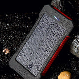 10,000mAh Spare Phone Battery / Power Bank with Solar Charging - Bestbuy-Gadget