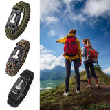 Paracord Survival Wristband (9 tools-in-1) - Bestbuy-Gadget