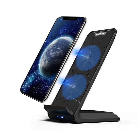 Qi Fast Wireless Charging Phone Stand - Bestbuy-Gadget